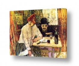 אמנים מפורסמים הנרי דה טולוז לוטרק | Henri de Toulouse 001