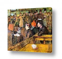 אמנים מפורסמים הנרי דה טולוז לוטרק | Henri de Toulouse 005