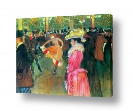 אמנים מפורסמים הנרי דה טולוז לוטרק | Henri de Toulouse 007