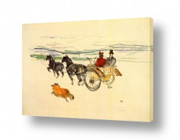 אמנים מפורסמים הנרי דה טולוז לוטרק | Henri de Toulouse 012