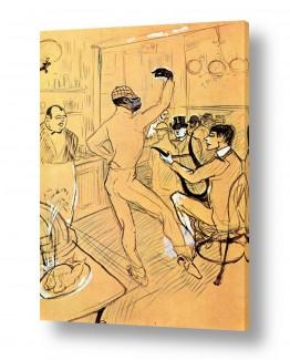 אמנים מפורסמים הנרי דה טולוז לוטרק | Henri de Toulouse 017