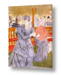 אמנים מפורסמים הנרי דה טולוז לוטרק | Henri de Toulouse 022
