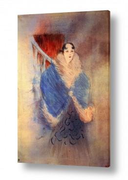 אמנים מפורסמים הנרי דה טולוז לוטרק | Henri de Toulouse 028