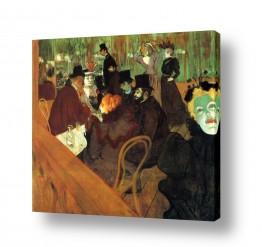 אמנים מפורסמים הנרי דה טולוז לוטרק | Henri de Toulouse 045
