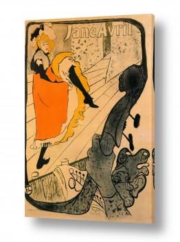 אמנים מפורסמים הנרי דה טולוז לוטרק | Henri de Toulouse 048
