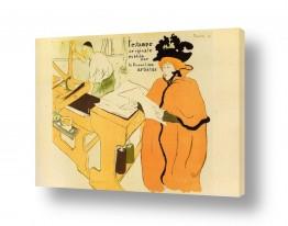 אמנים מפורסמים הנרי דה טולוז לוטרק | Henri de Toulouse 049