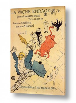 אמנים מפורסמים הנרי דה טולוז לוטרק | Henri de Toulouse 063