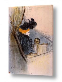 אמנים מפורסמים הנרי דה טולוז לוטרק | Henri de Toulouse 098