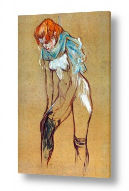 אמנים מפורסמים הנרי דה טולוז לוטרק | Henri de Toulouse 099
