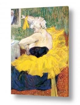 אמנים מפורסמים הנרי דה טולוז לוטרק | Henri de Toulouse 107