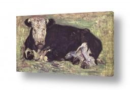 יונקים פרות   Van Gogh 002