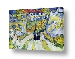 אמנים מפורסמים וינסנט ואן גוך | מדרגות באובר