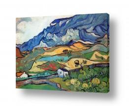 אמנים מפורסמים וינסנט ואן גוך | Les Alpilles אלפיל