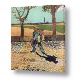 אמנים מפורסמים וינסנט ואן גוך   Van Gogh 082