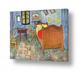 אמנים מפורסמים וינסנט ואן גוך   חדר שינה בארל