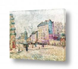 אמנים מפורסמים וינסנט ואן גוך   Boulevard  from Clichy