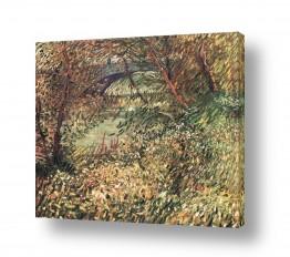 אמנים מפורסמים וינסנט ואן גוך   Pont de Clichy
