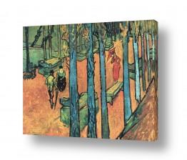 אמנים מפורסמים וינסנט ואן גוך   the alyscamps