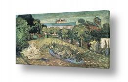 אמנים מפורסמים וינסנט ואן גוך   daubignys garden