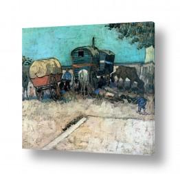 אמנים מפורסמים וינסנט ואן גוך | Gypsy Horse