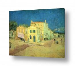 אמנים מפורסמים וינסנט ואן גוך | The Yellow House