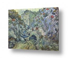 אמנים מפורסמים וינסנט ואן גוך | The Ravine,