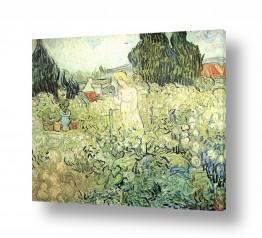 אמנים מפורסמים וינסנט ואן גוך | Marguerite in the Garden