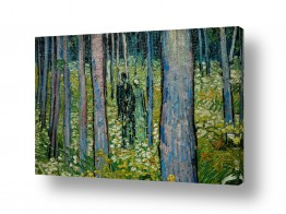 אמנים מפורסמים וינסנט ואן גוך | Undergrowth