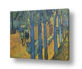 אמנים מפורסמים וינסנט ואן גוך | The Alyscamps