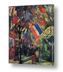 אמנים מפורסמים וינסנט ואן גוך | The 14th of July