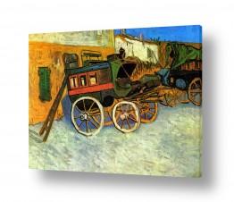 אמנים מפורסמים וינסנט ואן גוך | The Tarascon Diligence