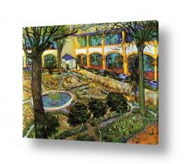 אמנים מפורסמים וינסנט ואן גוך | The Asylum Garden