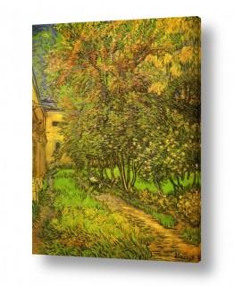 אמנים מפורסמים וינסנט ואן גוך | The Garden of Saint-Paul