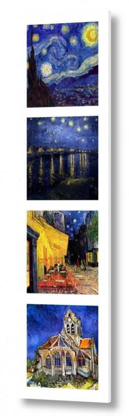 אמנים מפורסמים וינסנט ואן גוך   vincent van gogh