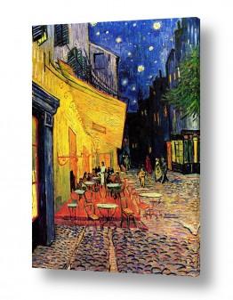 אמנים מפורסמים וינסנט ואן גוך | מרפסת בית הקפה
