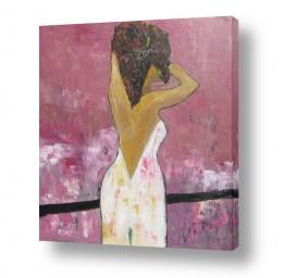 ציורים ורד אופיר | עלמת החן