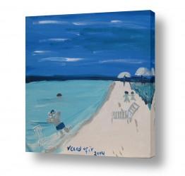 ציורים מים | חופי מקסיכו