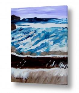 ציורים ורד אופיר | חוף