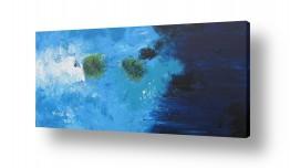 ציורים אבסטרקט | מחושך לאור
