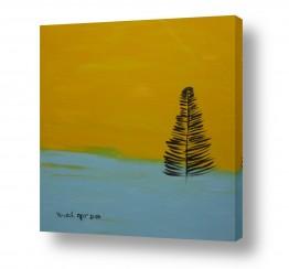ציורים ורד אופיר | עץ אשוח