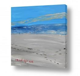 נוף חופים | חול וים
