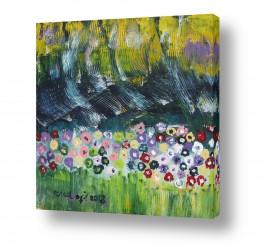 ציורים ורד אופיר | פרחי שדה
