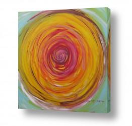 ציורים ציורים אנרגטיים | יקום בצבע