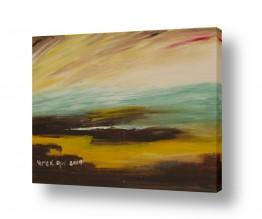 ציורים ורד אופיר | זריחה