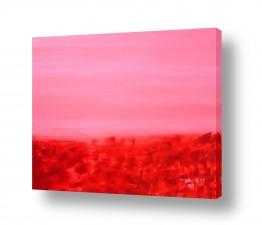 ציורים ורד אופיר | ורוד אדום