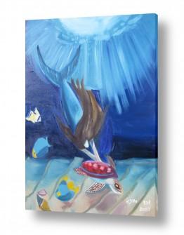 ציורים ורד אופיר | בת הים