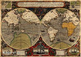 Antique World Map