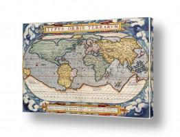 תמונות לפי נושאים מפה | מפה ישנה של העולם
