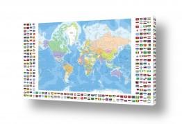 תמונות לפי נושאים מפה | מפה עם דגלים Flags World