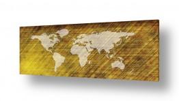 תמונות לפי נושאים מפה | מפת עולם מעוצבת